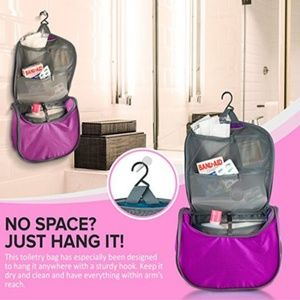 Accessories - NEW Hanging Toiletry Bag - Backpacking & Travel